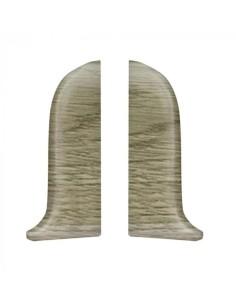 Лява тапа за PVC перваз Salag SG56/B3 - пустинен дъб SALAG - 1