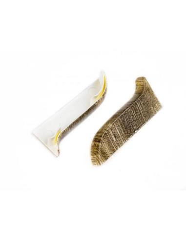 Лява тапа за PVC перваз Salag SG56/74 - масари дъб SALAG - 1