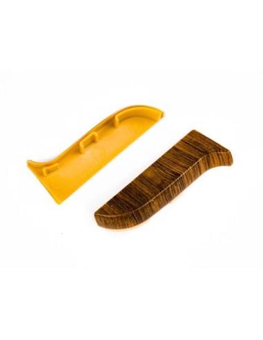 Лява тапа за PVC перваз SALAG SG56/19 - стар дъб SALAG - 1
