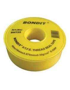 Тефлонова лента bondit 19мм*40м*0.075мм BONDIT - 1