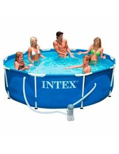 Басейн с метална рамка и филтърна помпа Intex 4485л, 305х76см INTEXT - 2