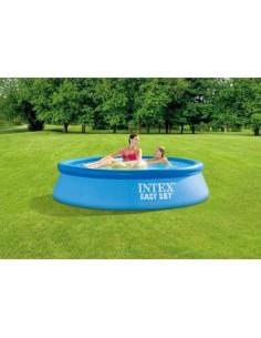 Надуваем басейн с помпа и филтър Intex 244х61 см INTEXT - 2