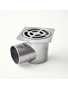 Сифон рогов квадратен алуминий ф50 THERMO STYLE - 1