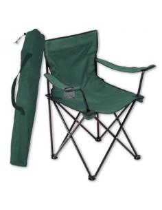 Сгъваем рибарски стол 52x52x83 см, зелен ДРУГИ - 1