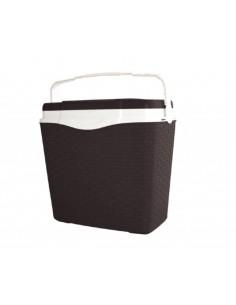 Хладилна чанта ратан, кафява- 24 литра ДРУГИ - 1
