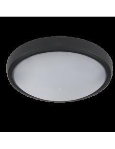 LED плафон BRLED 12W черен
