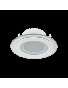 LED панел кръгъл със стъкло...