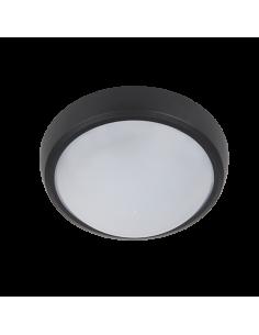 LED плафон BRLED 6W черен IP54
