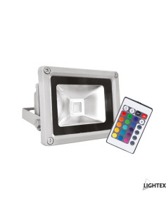 LED прожектор сребро 10W...