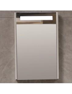 Горен огледален PVC шкаф за...