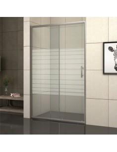 Стъклен параван за баня Алма
