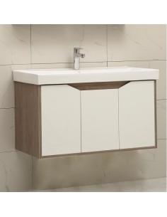 Бяла мебел за баня ЕЛИНА 9155