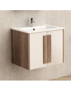 Шкаф за баня с умивалник...
