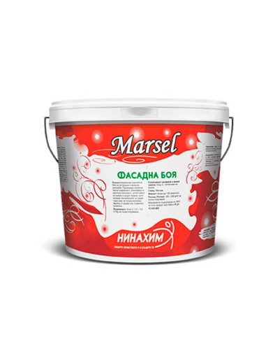 Фасадна боя- бяла - 22 кг - MARSEL