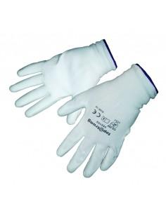 Бели работни ръкавици...