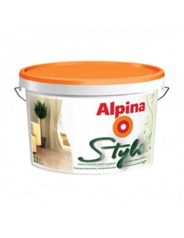 Интериорна боя Alpina Style - бяла,...