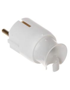 Бял щепсел 2Р+Е 16А с кабел...