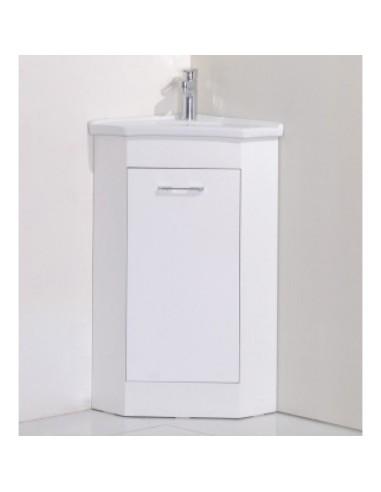 Ъглов  PVC шкаф за баня- 4040