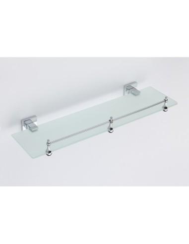 Стъклена лавица за баня НАОМИ - ICA 2691