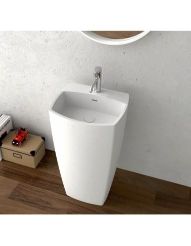 Масивен умивалник с шкаф за баня - ICB 4245