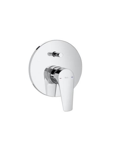 """Roca Atlas Вграден смесител 1/2"""" за вана-душ с автоматичен превключвател"""